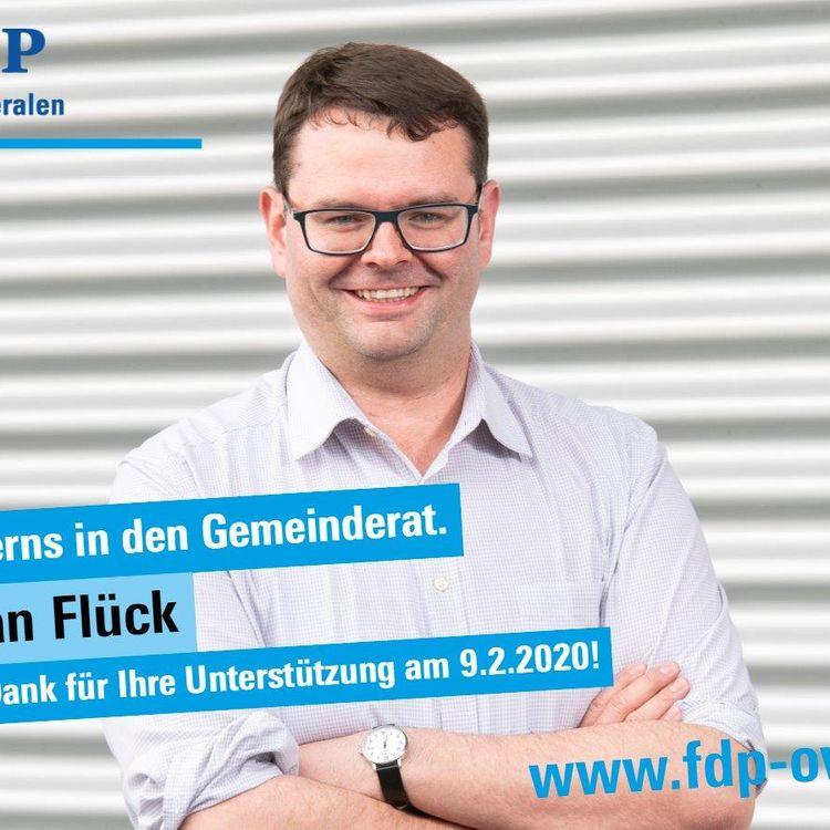 Kerns nominiert Stefan Flück als Gemeinderats-Kandidat